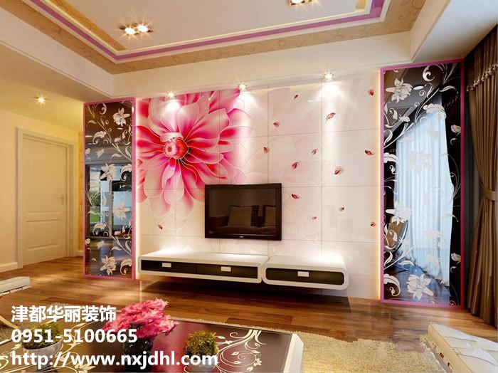 图 银川装修公司,电视背景墙的装饰风格 宁夏 银川装修集高清图片