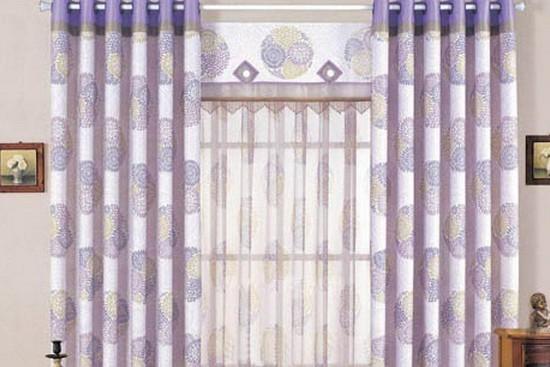 图:新中式风格窗帘效果图大全图片