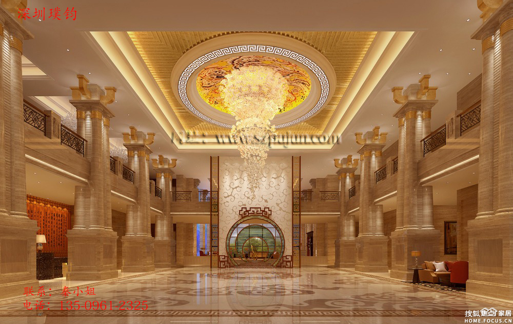 大厅装修设计图
