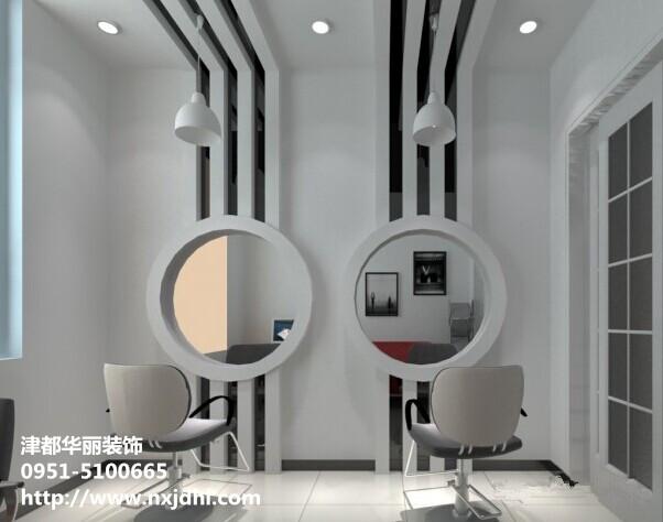银川装饰公司,理发店装修设计的注意事项