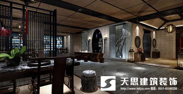 合肥中式风格酒店装修设计手法很重要