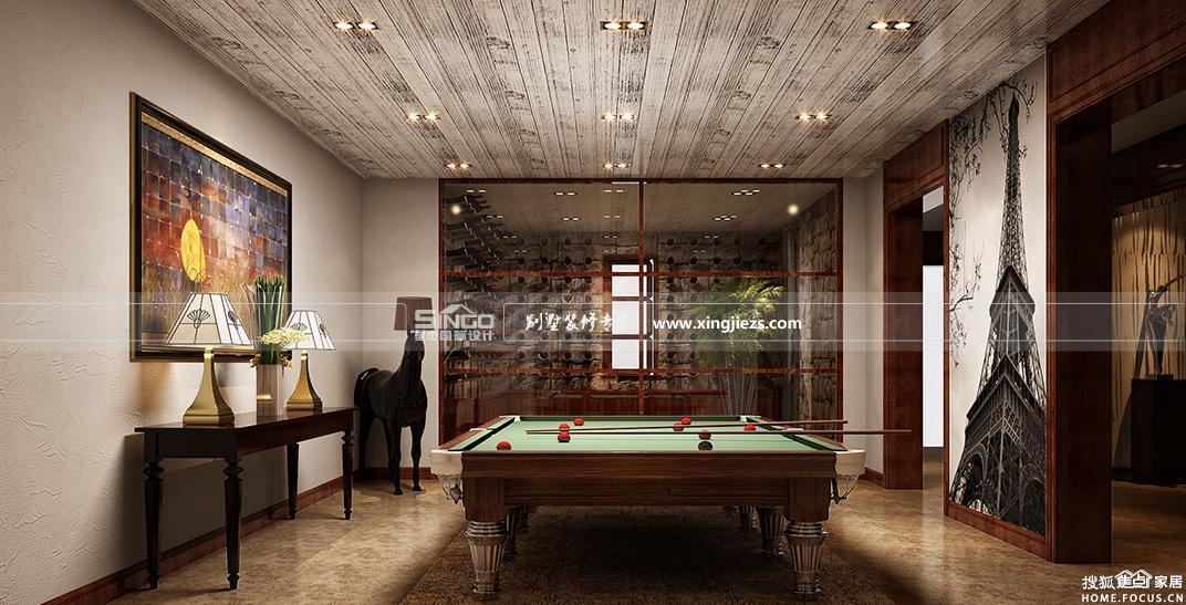 别墅地下室装修设计集锦 舒适惬 上海装修