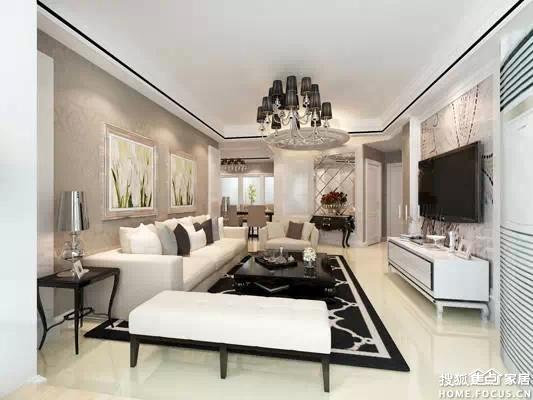 华丽的挂饰和家具,同时加以色彩明亮大胆的搭配,让奢华中带有