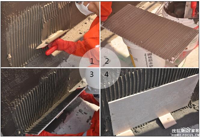 水泥PK瓷砖胶 谁才是铺贴瓷砖的最佳选 德高防水图片