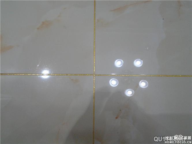 瓷砖美缝效果 太原装修高清图片