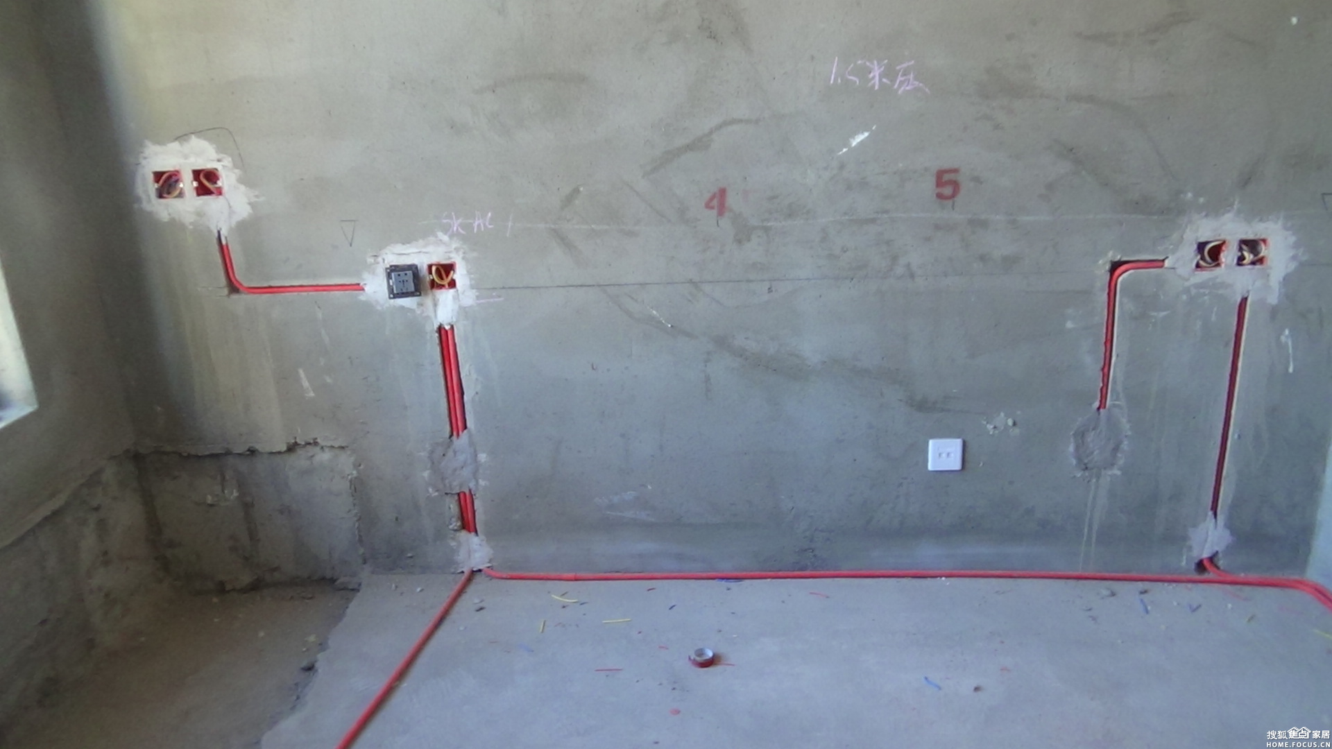 水电改造施工展示效果图高清图片
