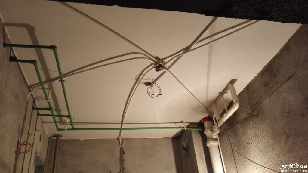 瓦工老爹装修 五 水电改造高清图片