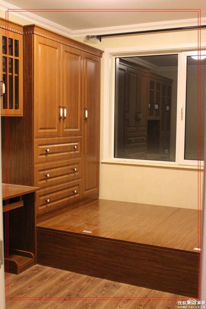 衣柜近景和内部结构-又踏上了装修的路 安装季 榻榻米成品