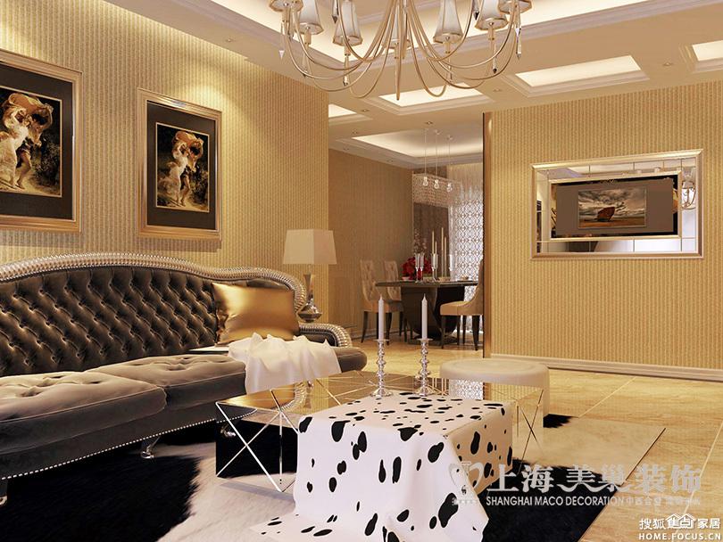 升龙又一城四室两厅143平简欧装修样板间效果图高清图片