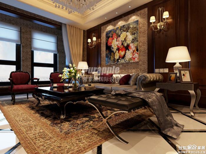 式风格设计装修效果图-关注高品质生活,关注高品质家装,关注紫苹高清图片