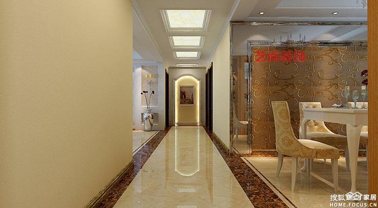 州黄委会家属院160平方三室两厅装修案 郑州装修高清图片