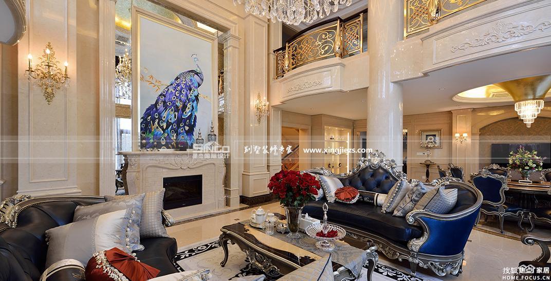 欧式装修设计图 400平米别墅奢华装修 上海装修