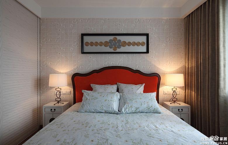 理想世界87平装修两室两厅简约效果图案例