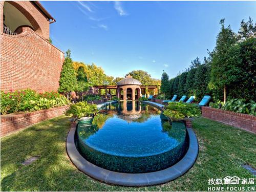 别墅泳池设计图-无泳池不别墅 私家别墅泳池设计