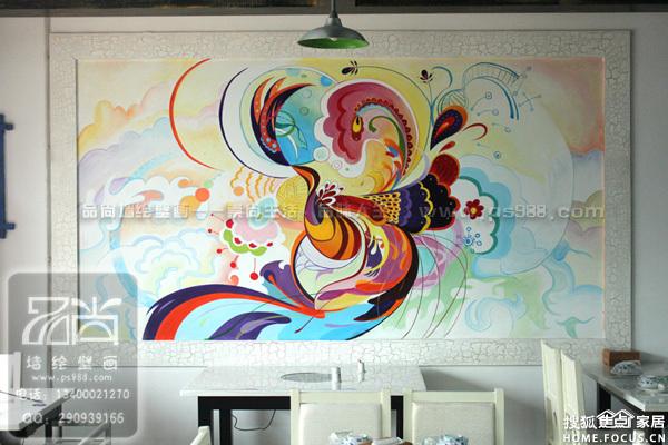 图:无锡餐厅手绘涂鸦无锡咖啡厅手绘涂鸦无锡酒吧手绘