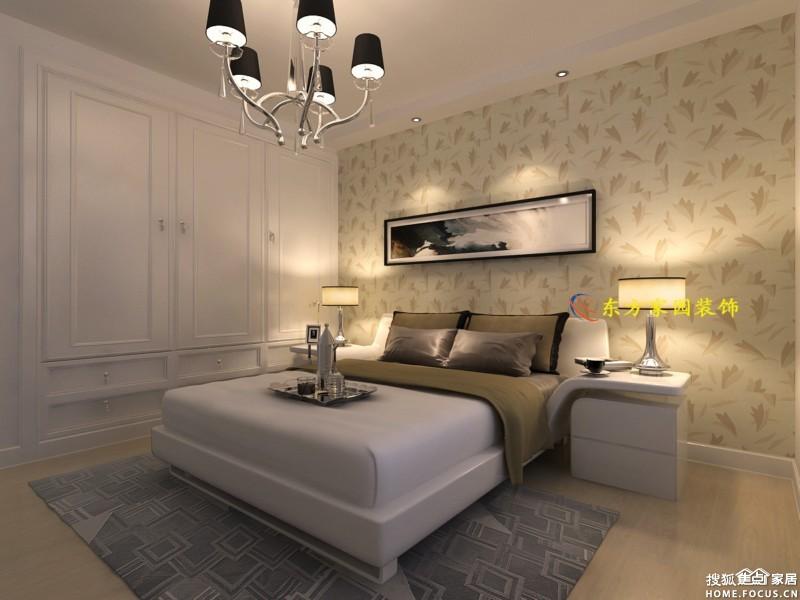 143平装修效果图欣赏 现代简约 东方家园装饰高清图片
