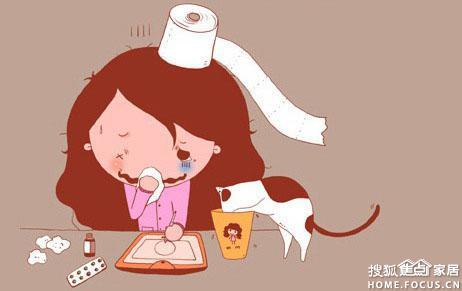本页主题:图:宝宝又感冒了!红鼻头真愁人!