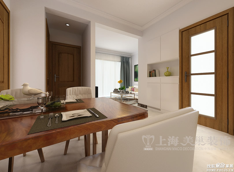 90平2室2厅现代简约装修效果图 客厅沙发背景墙高清图片