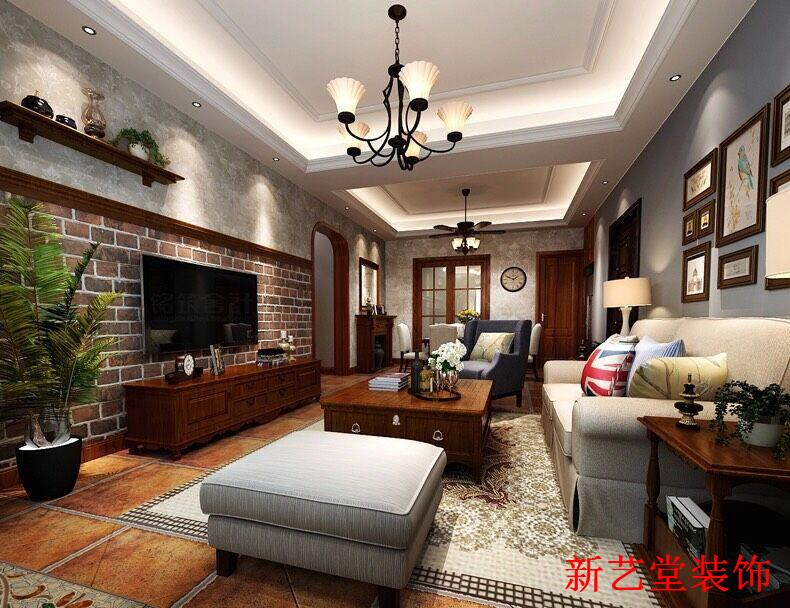 红砖灰墙与古 太原装修高清图片