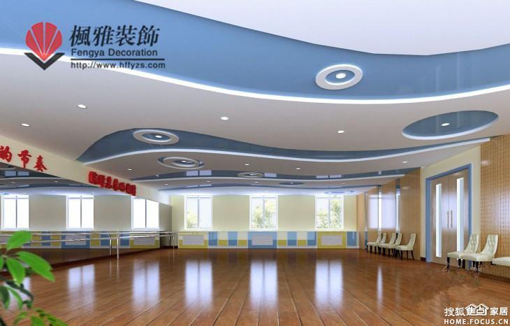 合肥舞蹈学校装修,饱满的热情舞优美的 合肥装修集采高清图片