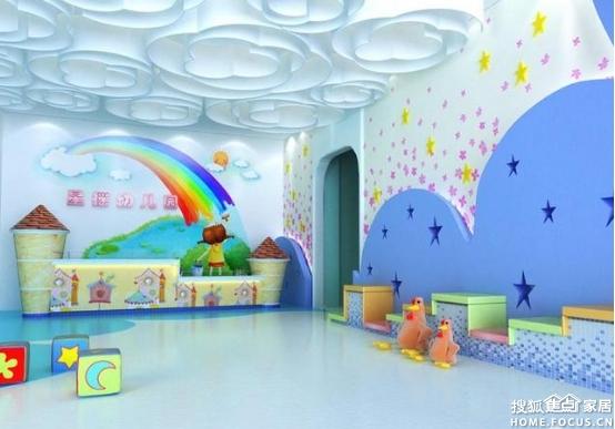 图:幼儿园软木地板和胶地板施工方法-装饰设计-搜狐