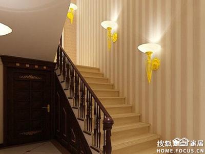 琅蜂装修案例 别墅楼梯装修效果图及别 成都装修集采