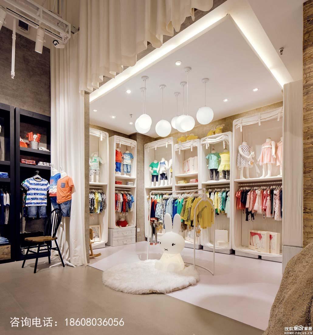 童装店门头设计图__广告设计_广告设计_设计图库_昵图网nipic.com