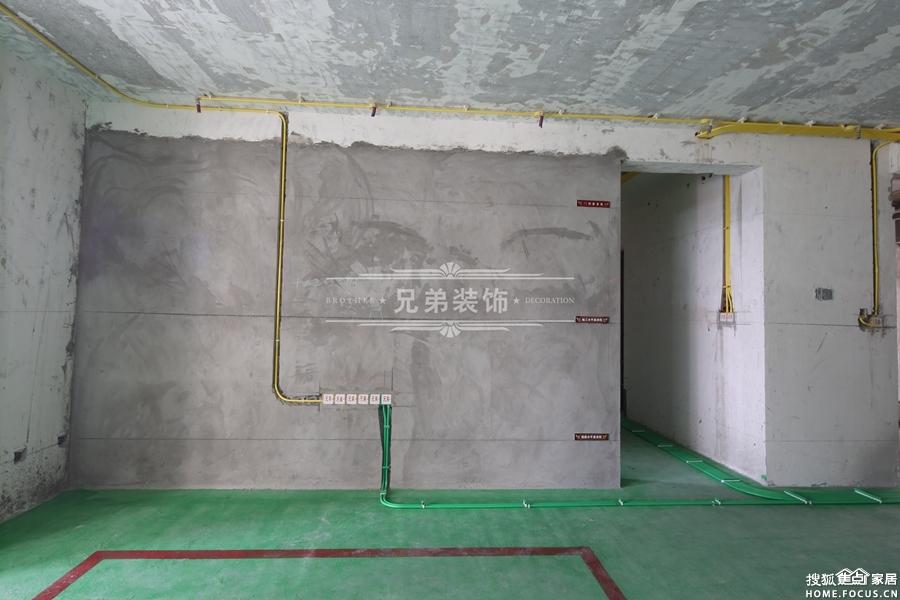 重庆兄弟装饰公司水电工艺实景展示高清图片
