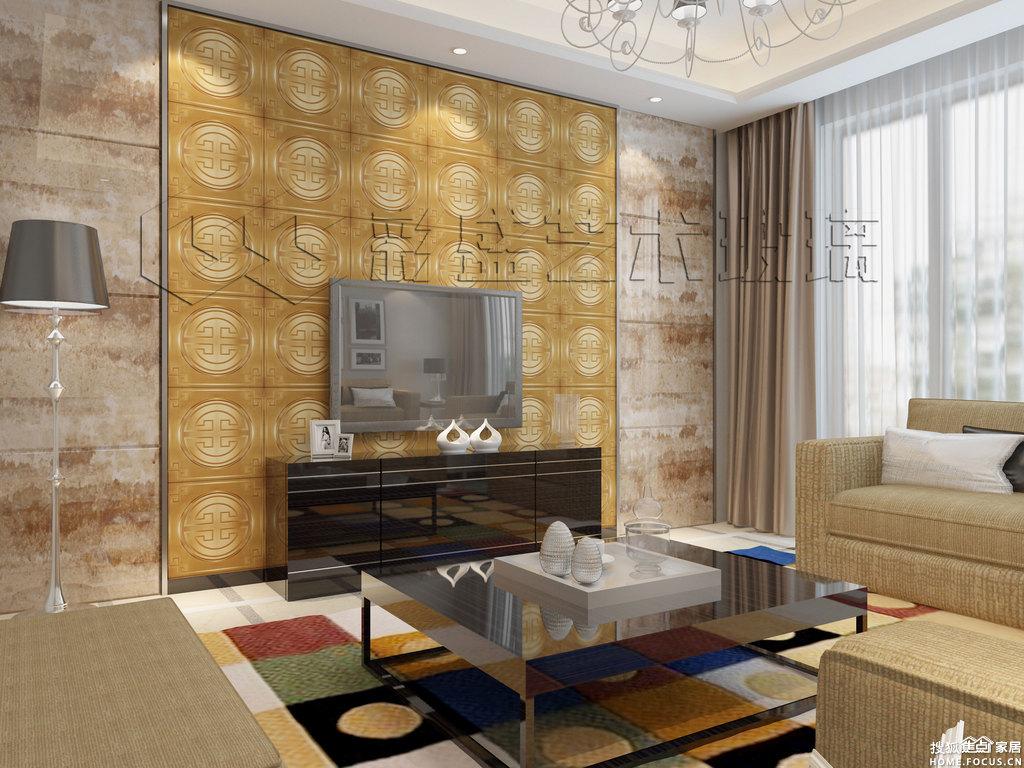 镜砖背景墙 客厅玄关卧室酒店ktv装修背景墙-建材