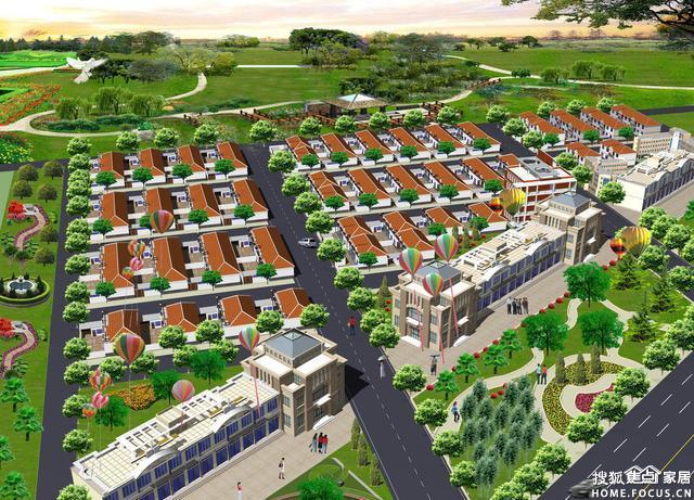 黑龙滩四海社区规划图