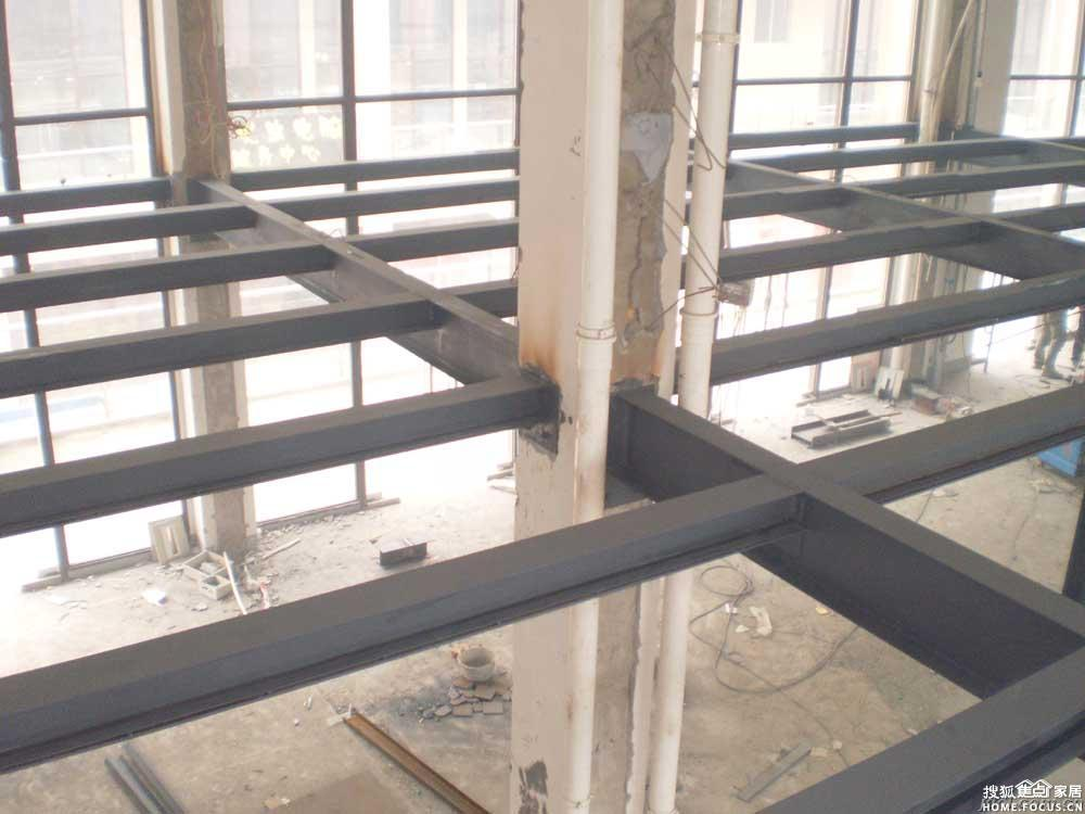 图:顺义区室内隔层做钢结构二层搭建阁楼夹层设计施工88684137