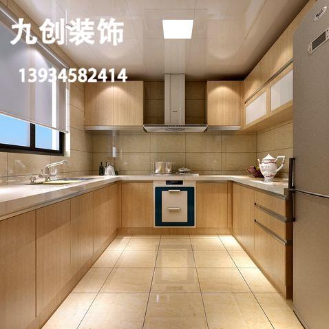 太原装修-新房装修-装修效果图-三千渡-87平米-现代简约-厨房装修效果