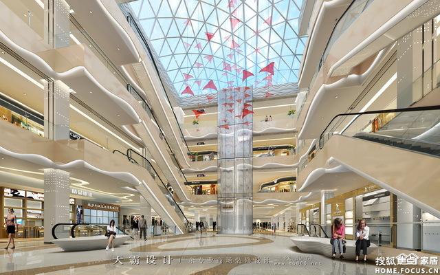 天霸设计为德阳商场装修客户分享商场装 东莞装修集采图片