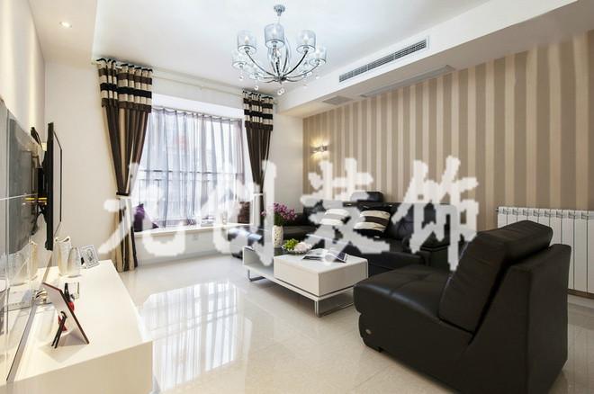 太原装修 新房装修 龙城2011 现代简约 两居室 95平米 龙城2011客厅装