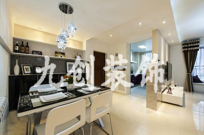 太原装修 新房装修 龙城2011 现代简约 两居室 95平米 龙城2011餐厅装