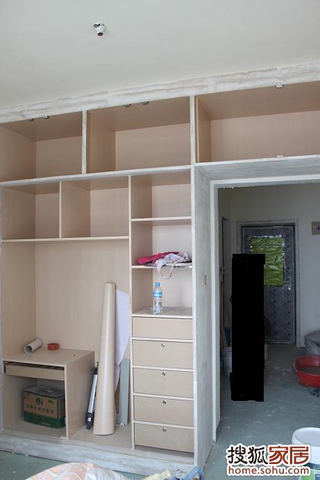 房间木工衣柜效果图