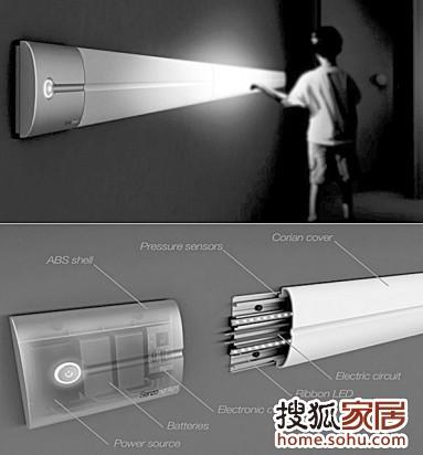 蓄电池灯具加双控开关接线图