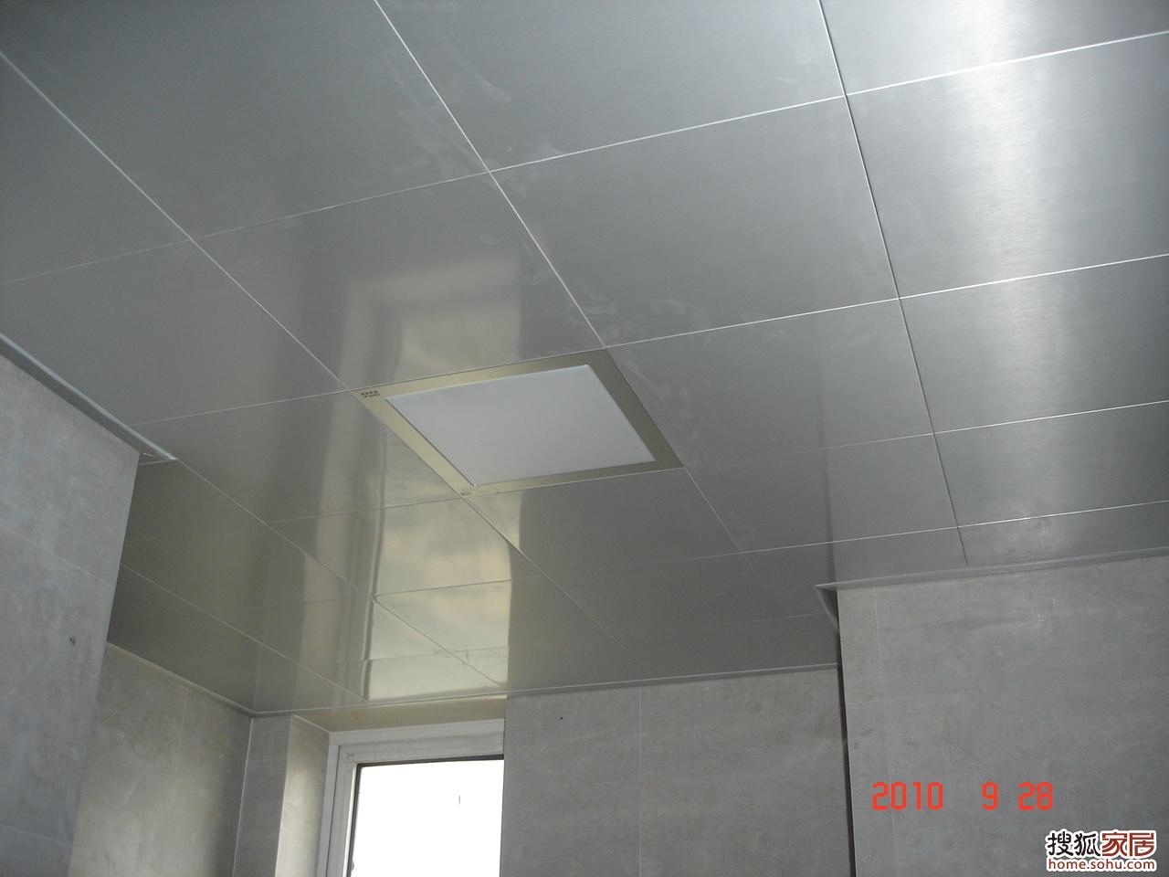 图片:卫生间厨房吊顶 新装修 晒晒
