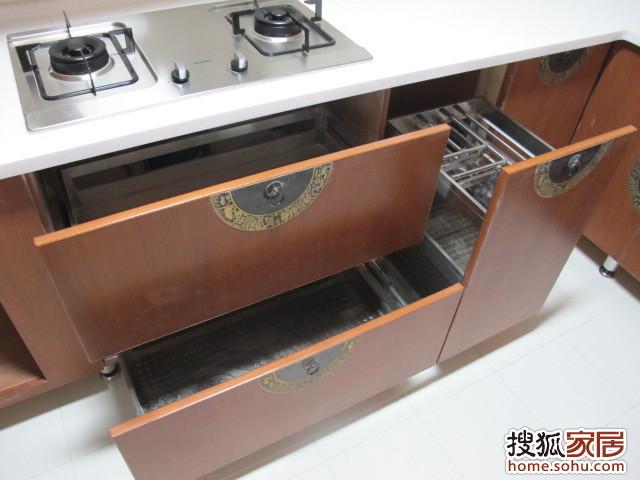 图片:【我拍我家】--我家木工做的中式古典橱柜!