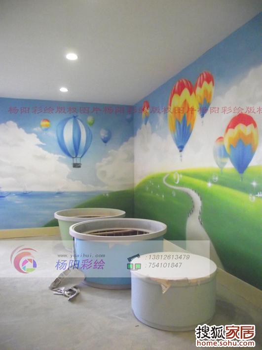 4儿童房墙体彩绘
