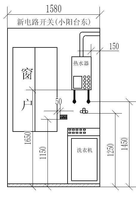 厨房的电路图