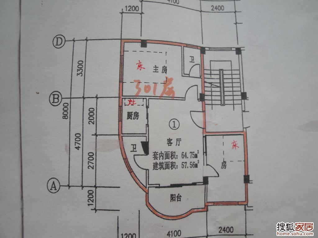 房子的平面图
