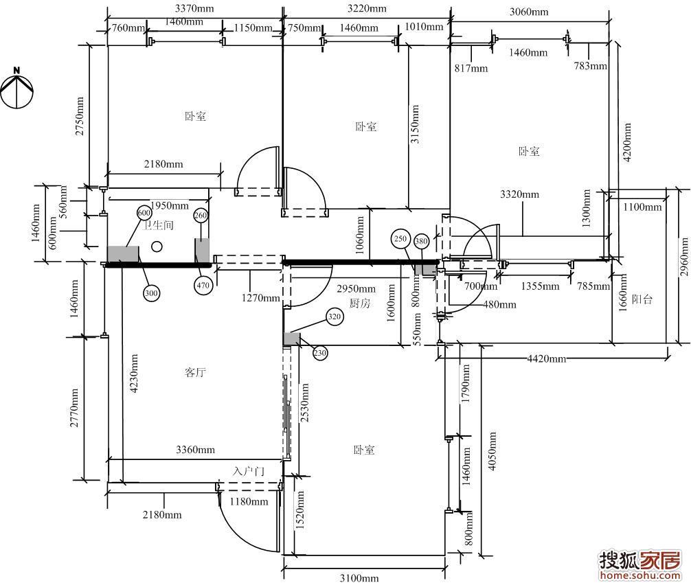 电路 电路图 电子 户型 户型图 平面图 原理图 1006_852