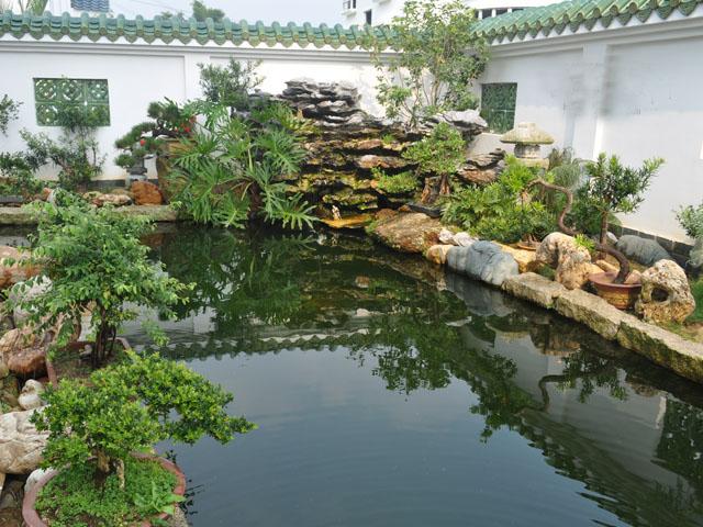 庭院鱼池过滤池设计图展示图片