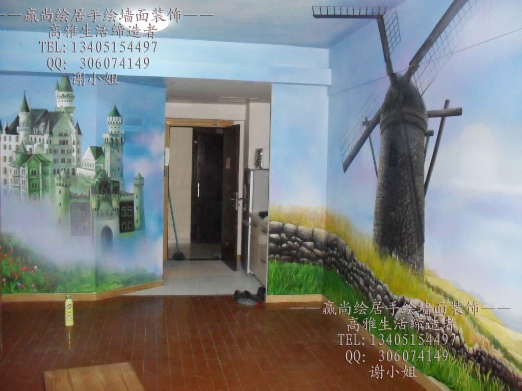 苏州211手绘壁画