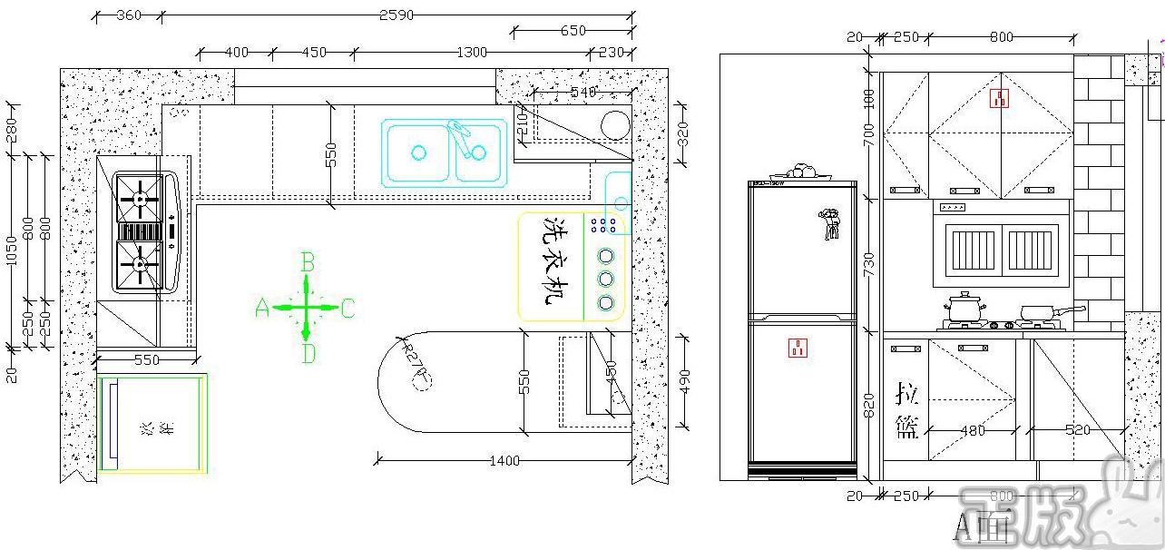 橱柜原设计图2