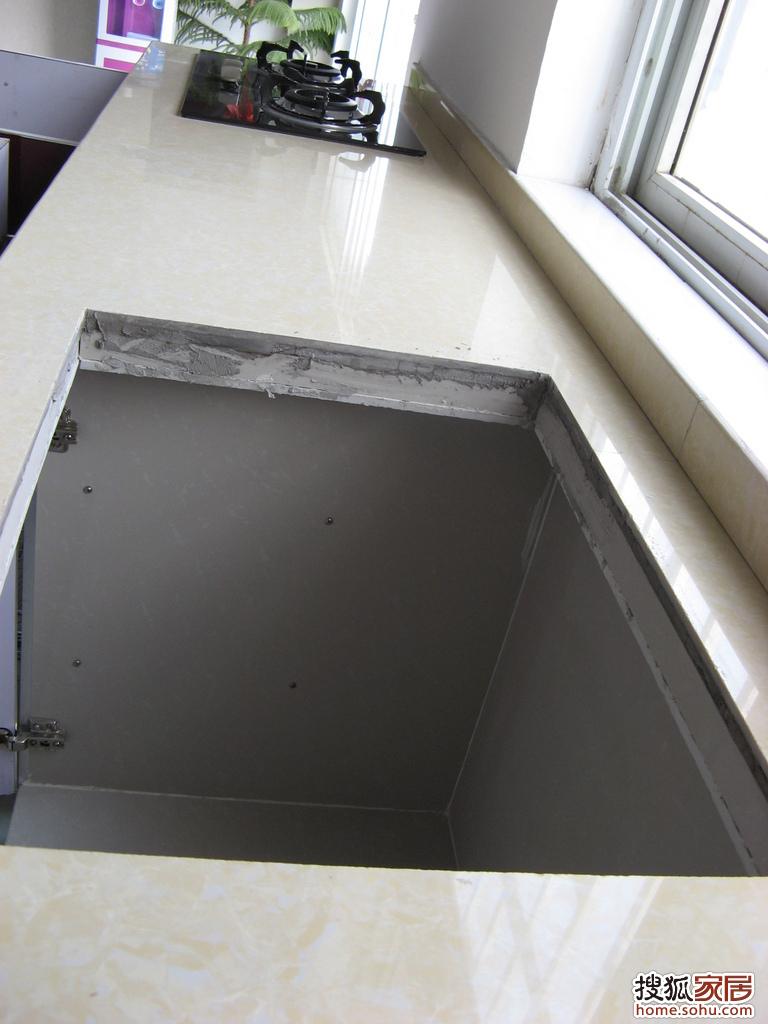 纯地板砖橱柜样品