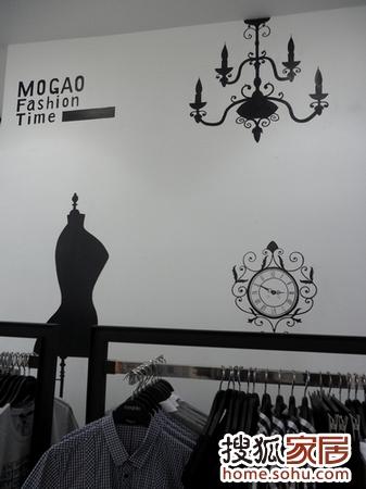 服装店手绘墙