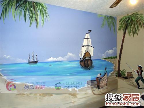 儿童房手绘墙31