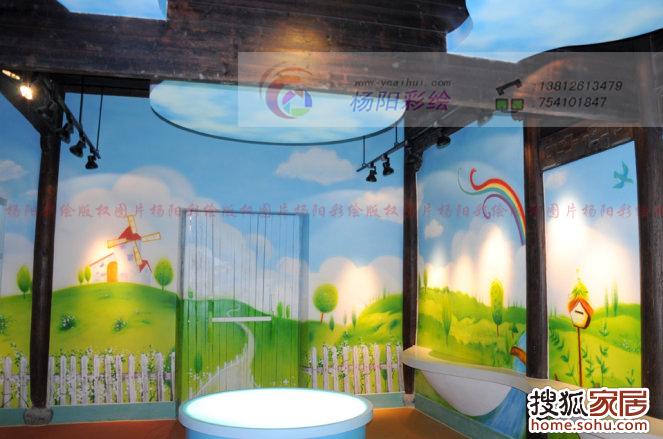 儿童乐园手绘墙7